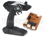 JJRC Q15 Car parts-06-01 Tranmitter,Remote control & Circuit board