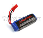 JJRC Q36 Parts-03-01 7.4V 400mAh Battery(1pcs)