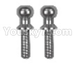 JJRC Q36 Parts-13 Ball hed screw(2pcs)φinner-1.5Xouter-3.5X2mm
