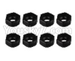 JJRC Q36 Parts-20 Official Plastic Combination device, six angle wheel seat(8pcs)