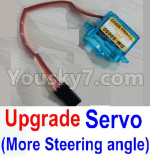 JJRC Q36 Parts-26-02 Upgrade Servo(More Steering angle,More Cheap price)