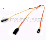 JJRC Q36 Parts-31-07 Upgrade 1-TO-2 Conversion wire for the Led Light
