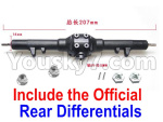 JJRC Q39 Spare Parts-03-01 Official Whole Rear Gear box Assembly