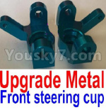 JJRC Q39 Spare Parts-10-01 F12008-011 Upgade Metal Front steering cup,Left and Right Universal joint(2pcs)