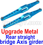 JJRC Q39 Spare Parts-12-02 Upgrade Metal Rear straight bridge Axis girder for the Rear Swing Arm(2pcs)