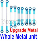 JJRC Q39 Spare Parts-21-02 Whole Upgrade Metal Rodunit(Include the 21-04 21-06 21-08 21-10 21-11 Metal Rod)-9pcs