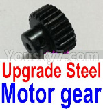 JJRC Q39 Spare Parts-25-02 FY-T22 T24 T26 Upgrade Steel Motor Gear(1pcs)