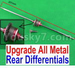 JJRC Q39 Spare Parts-29-02 Upgrade All Metal Rear Differentials Assembly