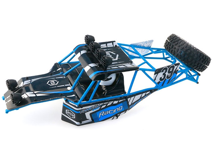 JJRC Q39 Spare Parts-42-00 Whole desert Car canopy Assembly,desert Shell Assembly-Blue