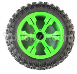 JJRC Q39 Spare Parts-43-03 Whole Wheel assembly(1pcs)-Green