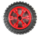 JJRC Q39 Spare Parts-43-05 Whole Wheel assembly(1pcs)-Red