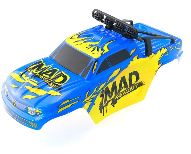 JJRC Q40 Parts-FY-CK05 Whole desert Car canopy Assembly,desert Shell Assembly-Blue&Yellow