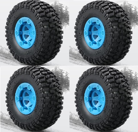 JJRC Q40 Parts-FY-CL01 Whole Wheel assembly(4pcs)-Blue
