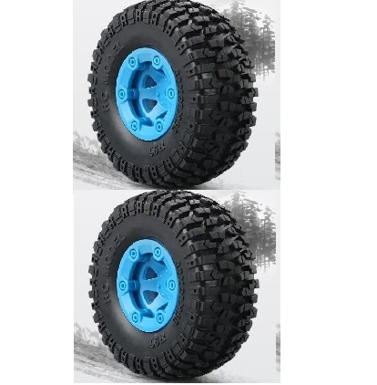 JJRC Q40 Parts-FY-CL01 Whole Wheel assembly(2pcs)-Blue