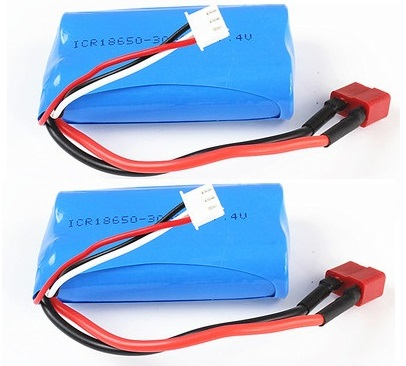 JJRC Q46 Parts-02-02 Official Battery-7.4V 1500mah(2pcs)