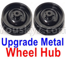 JJRC Q65 Parts-04 Upgrade Metal Wheel Hub(2pcs)-Black