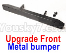 JJRC Q65 Parts-20 Upgrade Metal bumper-Black