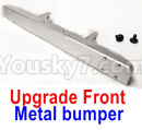 JJRC Q65 Parts-21 Upgrade Metal bumper-Silver
