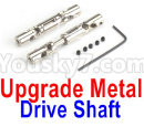 JJRC Q65 Parts-28 Upgrade Metal Drive Shaft(2pcs)-Silver
