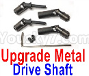 JJRC Q65 Parts-29 Upgrade Metal Drive Shaft(2pcs)-Black
