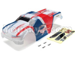 JLB Racing 11101 Spare Parts EA1074 Car canopy,Car Shell cover for 11101-White & Blue