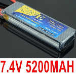 DHK Zombie Parts 7.4V 5200MAH Battery(1pcs)-2S Battery