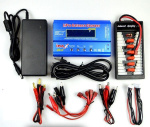 DHK Hunter Upgrades Parts-Upgrade Charger unit,Can charger 2s or 3s 6x battery at the same time(Power & B6 Charger & 1-To-6 Parallel charging Board)