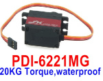 DHK Hunter Parts-JX Servo PDI-6221MG,20KG Torque Servo)-waterproof