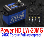 DHK Hunter Parts-JPower HD LW-20MG,20KG Torque Servo)-Full-waterproof