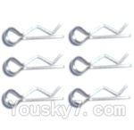Subotech BG1503 Car Spare Parts-30 R-Shape Pin(6pcs)