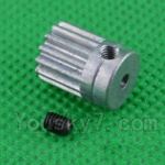 SuBotech BG1508 Car Spare Parts-25-02 H15061304 Small Motor Gear