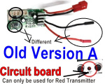 SuBotech BG1508 Car Spare Parts-63-02 DZDB01 Old Version A-Circuit board,Receiver board(Can only be used for the Red light Transmitter)