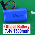 SuBotech BG1508 Car Spare Parts-60-01 DZDC01 7.4V 1500MAH Battery