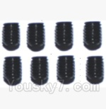 SuBotech BG1508 Car Spare Parts-88-17 WLS017 Hexagon Socket Screws(8pcs)-3X4