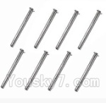 SuBotech BG1508 Car Spare Parts-89-09 WTD001 Axis nail(8pcs)-3X41.5