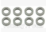 SuBotech BG1508 Car Spare Parts-90-04 WZC003 Ball bearing(8pcs)-11X7X3MM