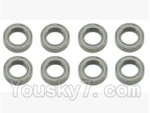 SuBotech BG1508 Car Spare Parts-90-05 WZC004 Ball bearing(8pcs)-10X15X4MM