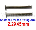 Subotech BG1521 Shaft nail for the Swing Arm(2pcs)-WTD002