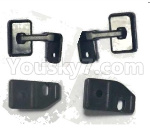 Subotech BG1521 Parts-rearview mirror and fixed parts(Total 4pcs)-S15202303 04 08
