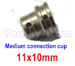Subotech BG1521 Medium connection cup-11x10mm-WTZ047