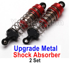 Subotech BG1525 Parts-Upgrade Metal Shock Absorber. Total 2 set. The resilience is better, stronger, and more resistant to fall.