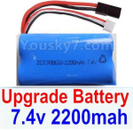 Subotech BG1525 Parts-Upgrade Battery Packs, 2S 7.4V 2200mah Lipo Battery. Total 1pcs. 12225. Run More time and more power.