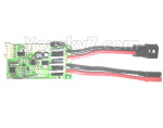 Subotech BG1525 Parts-Receiver board and Circuit board. DZDB04