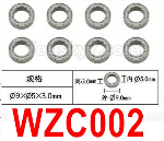 Subotech BG1525 Parts-Ball bearing. WZC002. The size is 5X9X3MM. Total 8pcs.