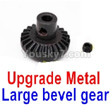 WPL C14 C-14 Hercules Parts-08-15 Upgrade Metal Large bevel gear