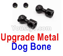 WPL C14 C-14 Hercules Parts-08-19 Upgrade Metal Dog Bone