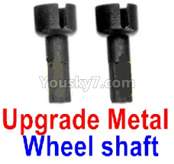 WPL C14 C-14 Hercules Parts-08-20 Upgrade Metal Wheel shaft(2pcs)
