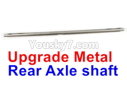 WPL C14 C-14 Hercules Parts-08-22 Upgrade Metal Rear Axle shaft.