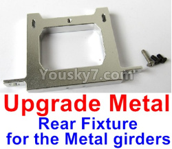 WPL C14 C-14 Hercules Parts-12-07 Upgrade Metal Rear Fixture for the Metal girders