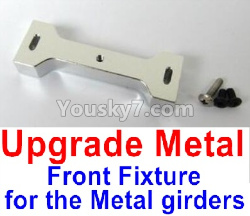 WPL C14 C-14 Hercules Parts-12-08 Upgrade Metal Front Fixture for the Metal girders